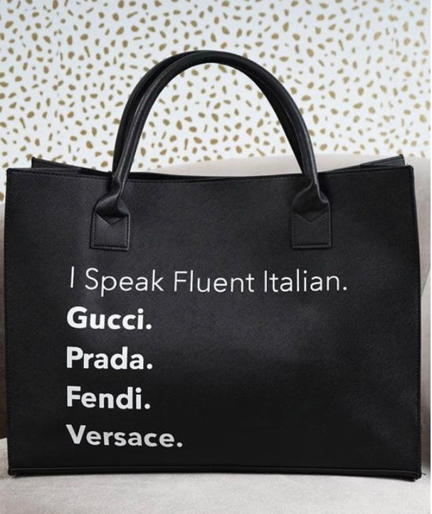 """Fluent Language"" - STY'LIN BOUTIQUE"
