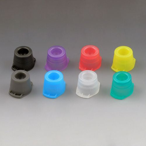 Cap, Universal, Fits most 12mm, 13mm and 16mm tubes, Yellow