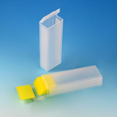 Slide Mailer, Polypropylene, Flip Top