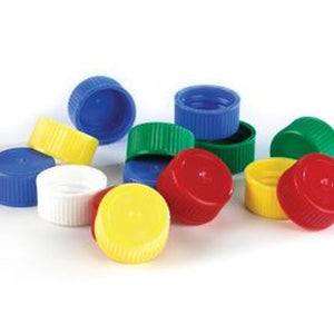 Screw Cap for 5mL and 10mL Transport Tubes, Yellow