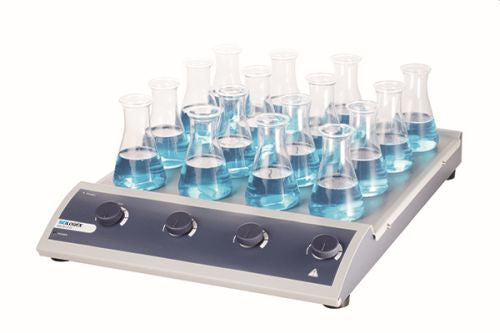 SCILOGEX MS-M-S16 Analog Magnetic Stirrer 16-Channel