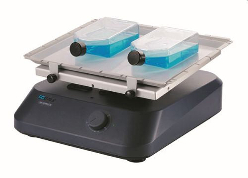 SCILOGEX SK-D1807-E Analog 3D Rocker, 7ø angle, with Anti-Slip Tissue Culture Flask Platform, 100-220V, 50/60Hz, US Plug