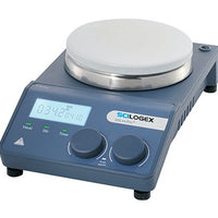 SCILOGEX MS-H-ProT Circular LCD Digital Magnetic Hotplate Stirrer, ceramic plate, 110V, 50/60Hz, US Plug