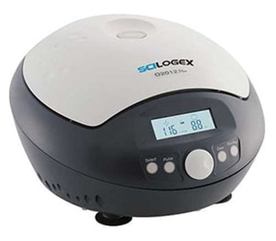 SCILOGEX D2012 Personal Mini-Centrifuge c/w 12 place rotor - p/n 19400010, 100-240V, 50/60Hz, US Plug