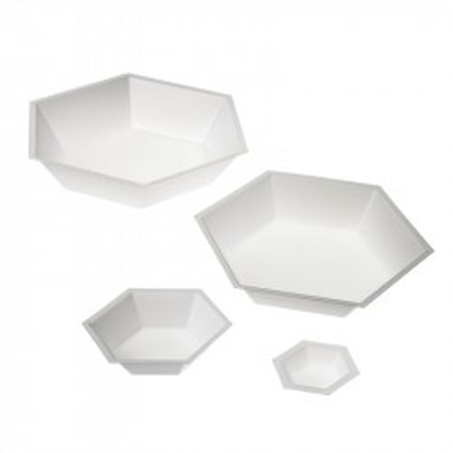 ANTISTATIC HEXAGONAL WEIGHING DISHES