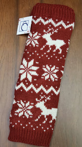 Extra thick boot sock / leg warmers