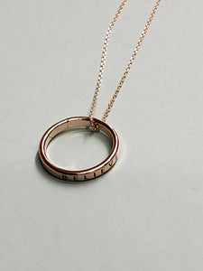 Believe Ring Necklace