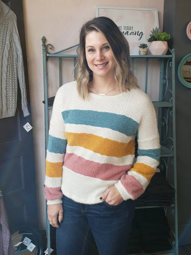 Brielle Stripe Sweater