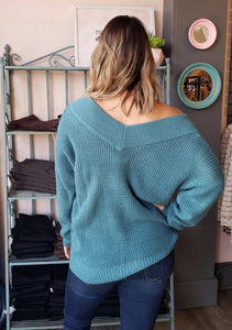 Lucky V-Neck Sweater