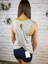 Load image into Gallery viewer, Erie Cross Back Tank Top