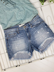 London Distressed Shorts