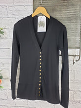 Load image into Gallery viewer, Long Sleeve Snap Front Cardi