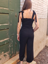 Load image into Gallery viewer, Lara  Smocked Jumpsuit