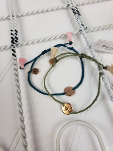 PuraVida Rose Gold Compass Bracelet