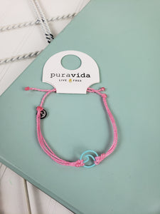 PuraVidA: Enamel Wave Aqua: Light Pink