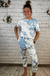Diya Tie Dye Lounge Wear Set