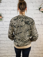 Load image into Gallery viewer, Nyssa Leopard Bomber Jacket