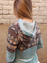 Load image into Gallery viewer, Nissa Aztec Double Hoodie