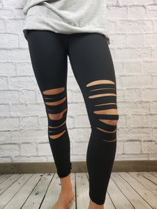 Mercedes Distressed Leggings