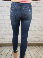 Load image into Gallery viewer, Judy Blue Patched Destoyed Skinny Jeans