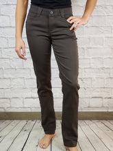 "Load image into Gallery viewer, ""Ab""Solution Espresso Dress Pant"