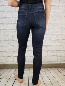 """Ab""solution Skinny Jeans with Distressing"