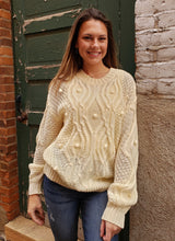 Load image into Gallery viewer, Natalie Pom Pom Sweater
