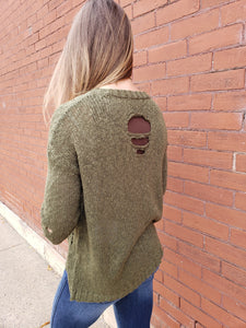 Danica Distressed Sweater