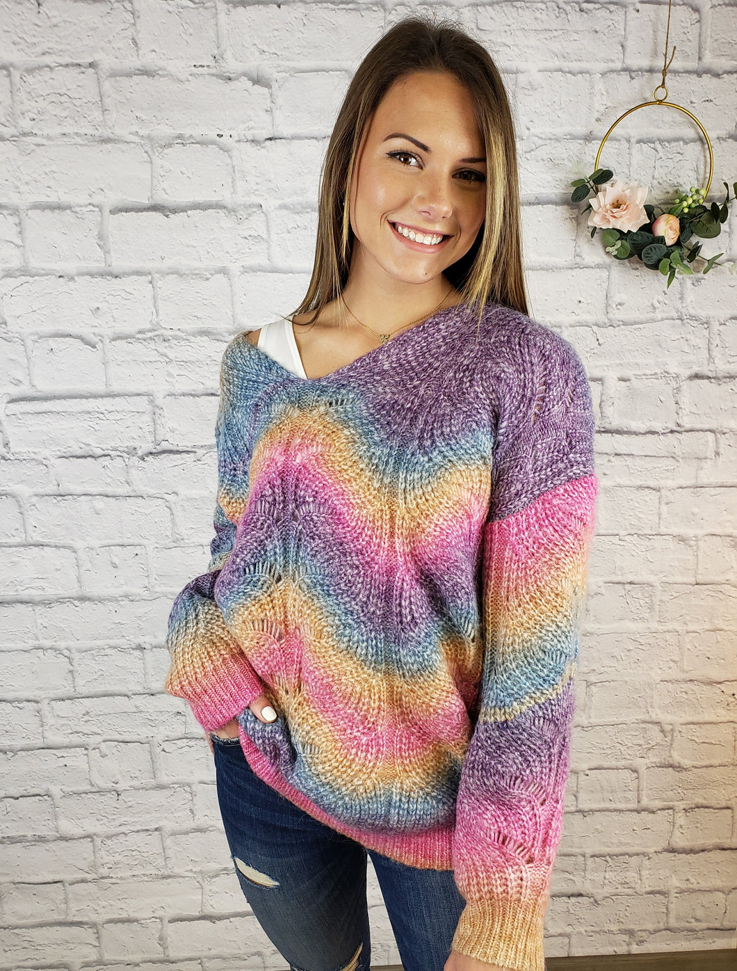 Rayne Colorful Sweater