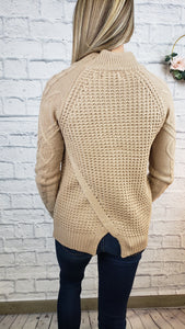 Genesis Cross Back Sweater
