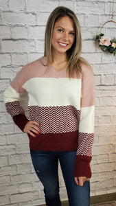 Etta V-Neck Sweater