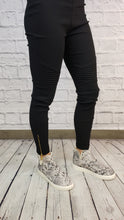 Load image into Gallery viewer, Moto Leggings with Ankle Zips