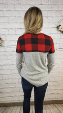 Load image into Gallery viewer, Kirsten Buffalo Plaid Top