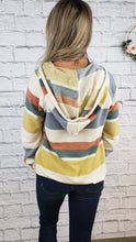 Load image into Gallery viewer, Kitra Stripe Hoodie
