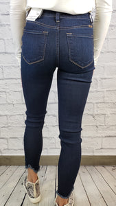 Nicole High Rise Ankle Skinny Jeans