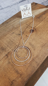 Layered Circles Pendant