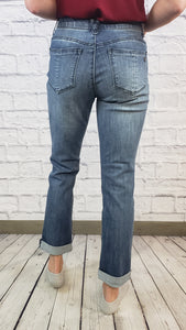 Democracy Cropped Girlfriend Jeans