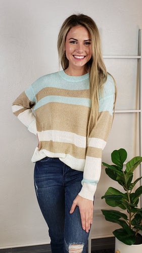 Rissa Striped Sweater