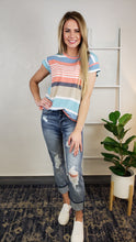 Load image into Gallery viewer, Colby Striped Tee