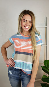 Colby Striped Tee