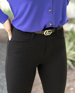Grace & Lace Fab-Fit Work Pant: Boot Cut