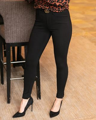 Grace & Lace Fab Fit Work Pant: Slim Fit