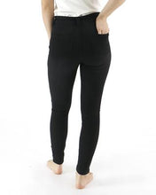 "Load image into Gallery viewer, ""Happy Pants"" Jegging from Grace & Lace - Black"