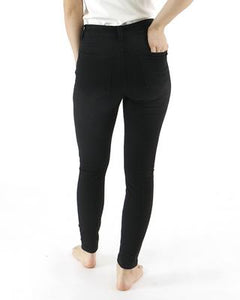 """Happy Pants"" Jegging from Grace & Lace - Black"