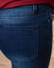 "Load image into Gallery viewer, ""Happy Pants"" Jegging from Grace & Lace - Indigo"