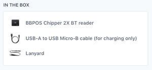 BBPOS Chipper™ 2X BT - For Mobile Devices (Tablet / Phone)