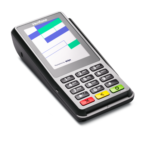Verifone® P400 Card Reader - For Desktop