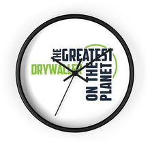 Load image into Gallery viewer, Wall clock - Drywaller
