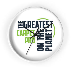 Wall clock - Carpet Pro