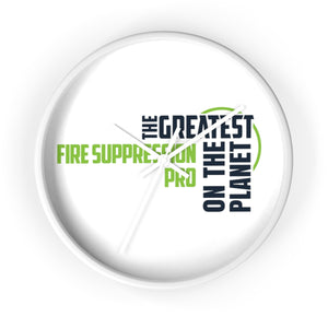 Wall clock - Fire Suppression Pro